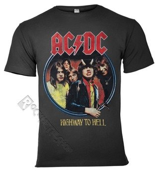 koszulka AC/DC - HIGHWAY TO HELL ciemnoszara