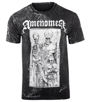 koszulka AMENOMEN - POPE AND DEATH (OMEN085KM ALLPRINT WHITE)