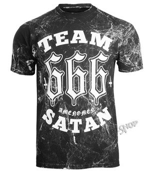 koszulka AMENOMEN - TEAM SATAN (OMEN082KM ALLPRINT WHITE)
