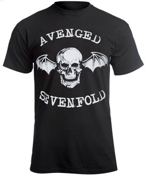 koszulka AVENGED SEVENFOLD - DEATH BAT LOGO
