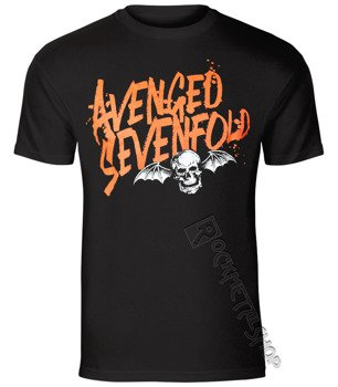 koszulka AVENGED SEVENFOLD - ORANGE SPLATTER