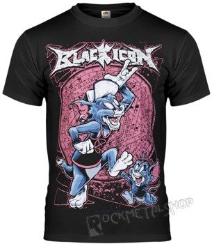 koszulka BLACK ICON - TOM AND JERRY (MICON036 BLACK)