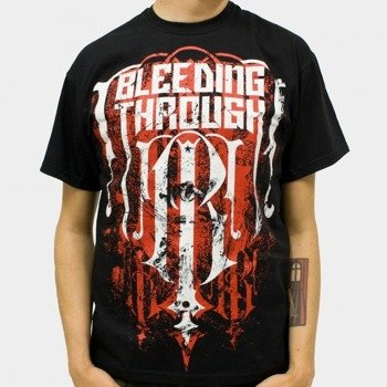 koszulka BLEEDING THROUGH - EMBLEM (BLACK)