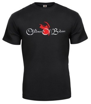 koszulka CHILDREN OF BODOM - RED LOGO