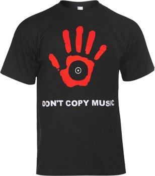 koszulka DONT COPY MUSIC