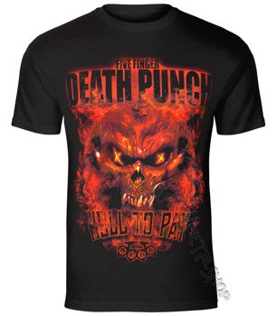 koszulka FIVE FINGER DEATH PUNCH - HELL TO PAY