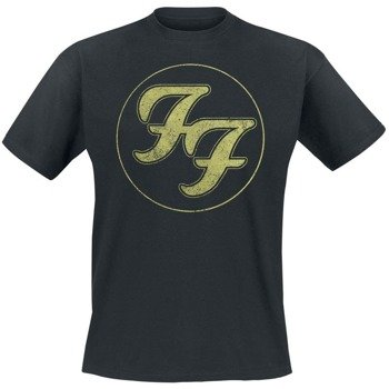 koszulka FOO FIGHTERS - LOGO IN GOLD