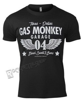 koszulka GAS MONKEY GARAGE - GARAGE 04-WINGS