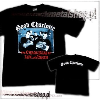 koszulka GOOD CHARLOTTE - THE CHRONICLES OF LIFE AND DEATH
