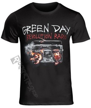 koszulka GREEN DAY - REVOLUTION RADIO COVER