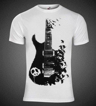 koszulka GUITAR PEACE biała