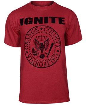koszulka IGNITE - PRESIDENT RED