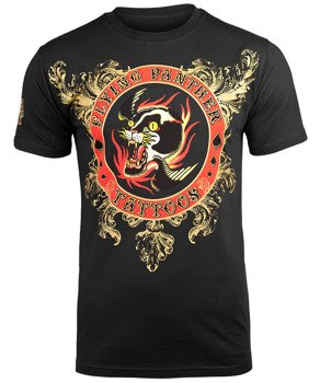koszulka IRON FIST - FLYING PANTHER TATTOOS (BLACK)