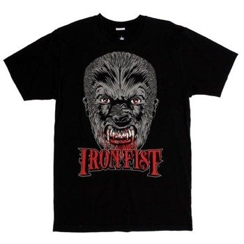 koszulka IRON FIST - WE ARE WOLVES (BLACK)