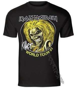 koszulka IRON MAIDEN - KILLER WORLD TOUR 81