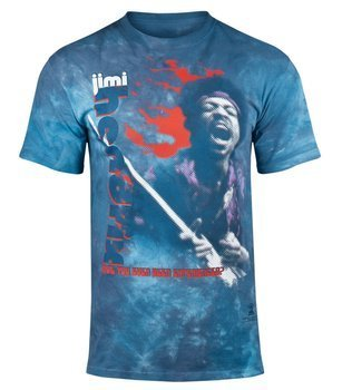 koszulka JIMI HENDRIX - FIRE, barwiona