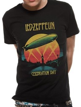 koszulka LED ZEPPELIN - CELEBRATION DAY BLACK