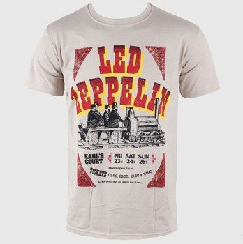 koszulka LED ZEPPELIN -  EARLS COURT TICKETS