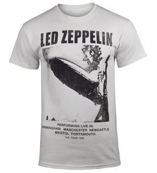 koszulka LED ZEPPELIN - UK TOUR '69 jasnoszara