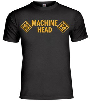koszulka MACHINE HEAD - YELLOW LOGO