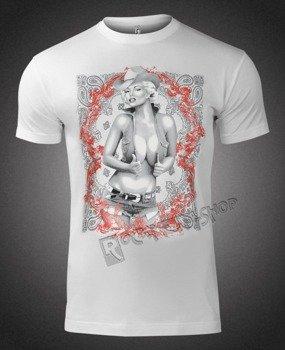 koszulka MARILYN MONROE - COWGIRL RED SWIRL