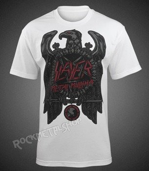 koszulka METAL MULISHA - SLAYER EAGLE WHITE