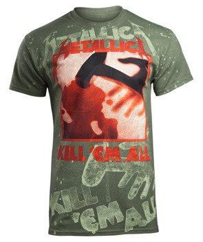 koszulka METALLICA - KILL'EM ALL olive, Allprint