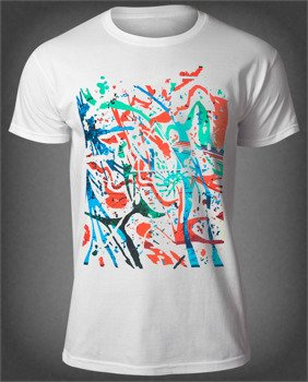 koszulka PINK FLOYD - POLLOCK PRISM