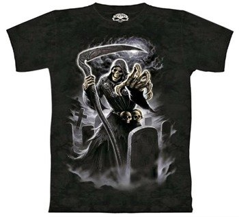 koszulka SKULBONE - DARK ANGEL barwiona