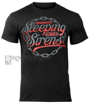 koszulka SLEEPING WITH SIRENS - CHAIN LOGO