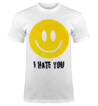 koszulka SMILEY - I HATE YOU