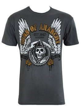 koszulka SONS OF ANARCHY - WINGED LOGO