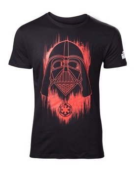 koszulka STAR WARS ROGUE ONE - RED FADED DARTH VADER