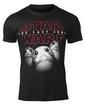 koszulka STAR WARS VIII - THE LAST JEDI PORGS