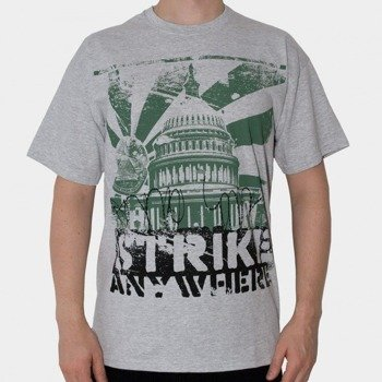 koszulka STRIKE ANYWHERE - LOWER THE FLAGS (SPORTS GRAY)