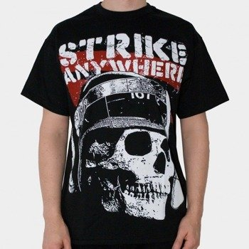 koszulka STRIKE ANYWHERE - SKULL (BLACK)