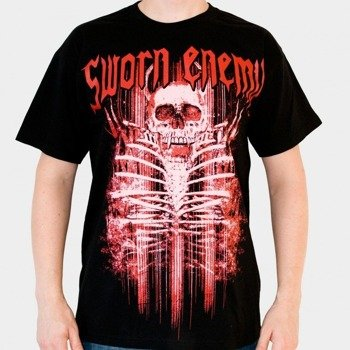 koszulka SWORN ENEMY - SKULL BLACK (BLACK)
