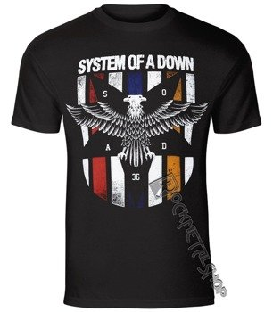 koszulka SYSTEM OF A DOWN - EAGLE COLOURS