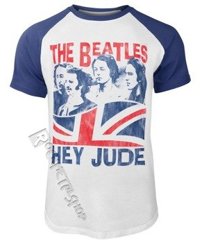 koszulka THE BEATLES - HEY JUDE WINDSWEPT raglan