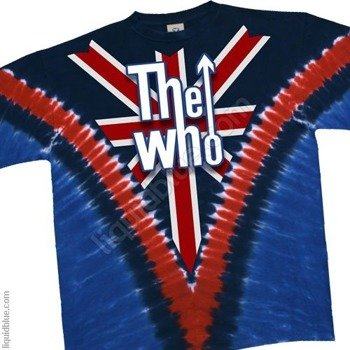 koszulka THE WHO - LONG LIVE ROCK barwiona