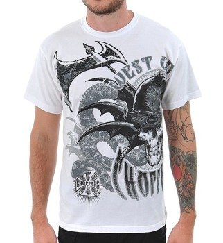 koszulka WEST COAST CHOPPERS - BATTLE white