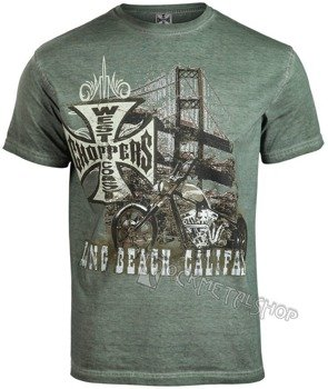 koszulka WEST COAST CHOPPERS - BRIDGE khaki