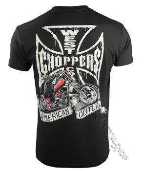 koszulka WEST COAST CHOPPERS - CHOPPER DOG, black