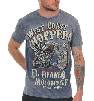 koszulka WEST COAST CHOPPERS - EL DIABLO