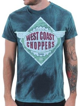 koszulka WEST COAST CHOPPERS - FURIOUS TEE FURIOUS BLUE