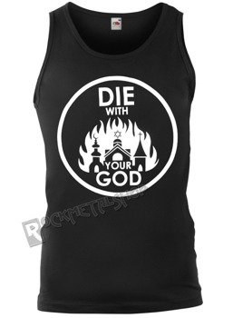 koszulka na ramiączkach AMENOMEN - DIE WITH YOUR GOD (OMEN071KR)