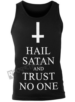 koszulka na ramiączkach AMENOMEN - HAIL SATAN AND TRUST NO ONE (OMEN095KR)