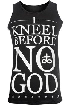 koszulka na ramiączkach AMENOMEN - I KNEEL BEFORE NO GOD (OMEN108KR)