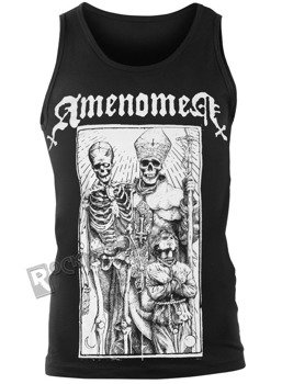 koszulka na ramiączkach AMENOMEN - POPE AND DEATH (OMEN085KR)