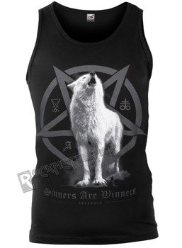 koszulka na ramiączkach AMENOMEN - WHITE WOLF (OMEN048KR)